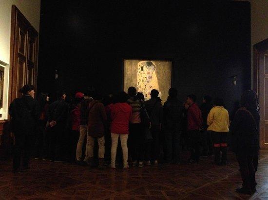 Belvedere Palace Museum : Поцелуй Климта