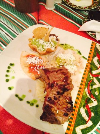 Occidental Costa Cancun: Dinner at the Mexican restaurant
