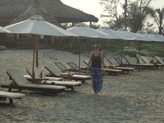 Hidden beach, north of Cua Dai beach.....go find it!!!!!!