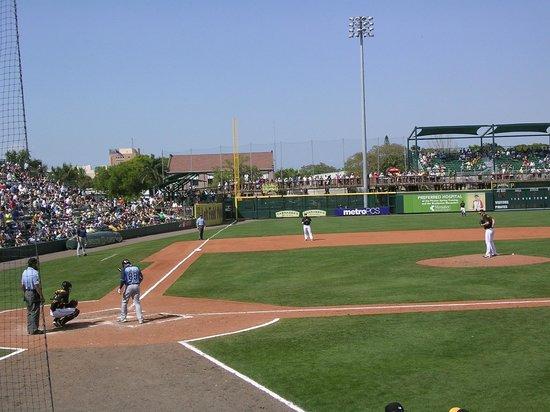 McKechnie Field: Baseball action