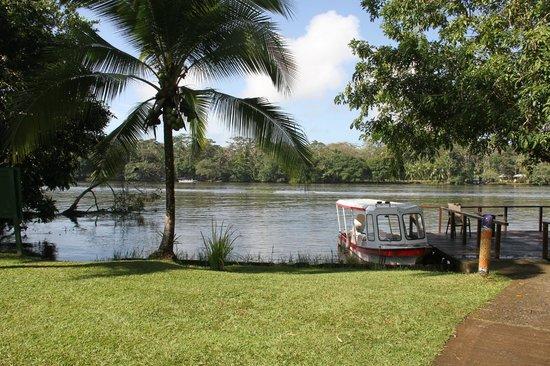 Laguna Lodge Tortuguero : vue sur le fleuve