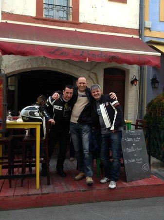 La Bodega : a la fin du repas,on va marcher!!!