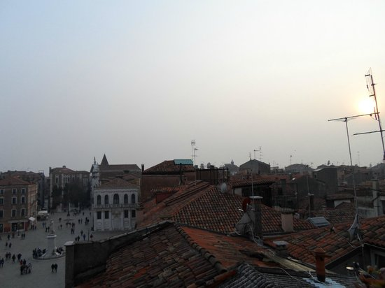B&B Bloom Venice : Roof terrace