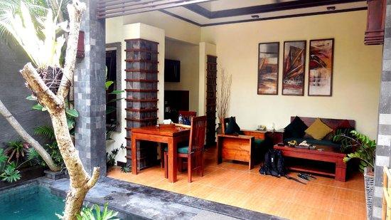 The Bali Dream Villa Seminyak : Living Room