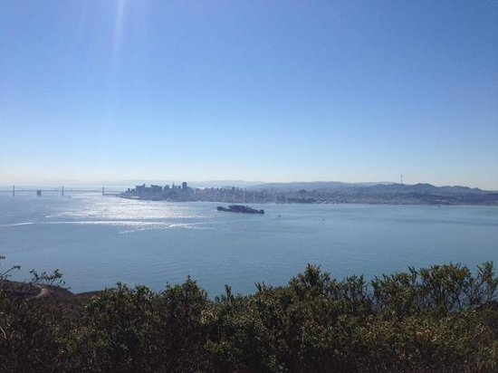 Angel Island State Park: View toward San Francisco