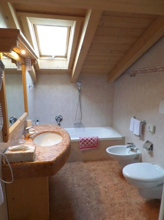 Hotel Alpi & Golf: Ванная комната