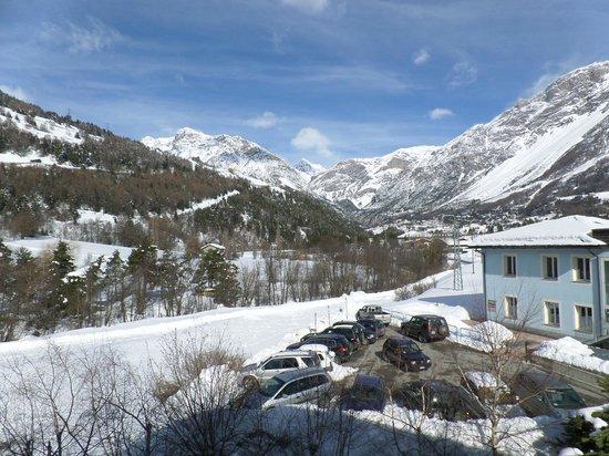 Hotel Alpi & Golf: Вид с балкона