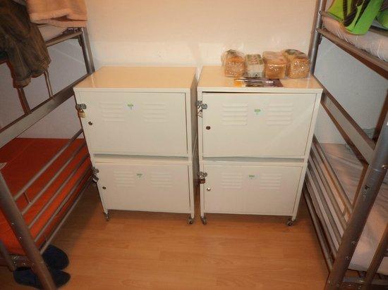 Adagio Hostel 1.0 Oktogon : Cacifos no dormitório