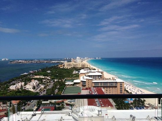 Secrets The Vine Cancun : Spectacular View from Room