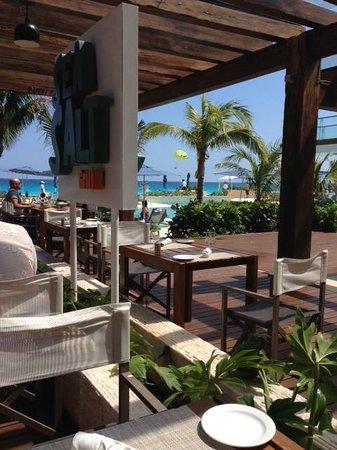 Secrets The Vine Cancun: Sea Salt - great lunch!