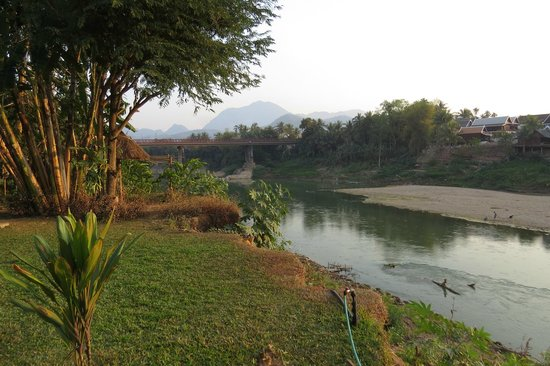 My Dream Boutique Resort: the river from the garden