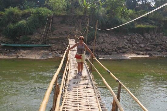 My Dream Boutique Resort: nearby bambo bridge into LP