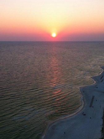 Tidewater Beach Resort: Condo # 2113 balcony view