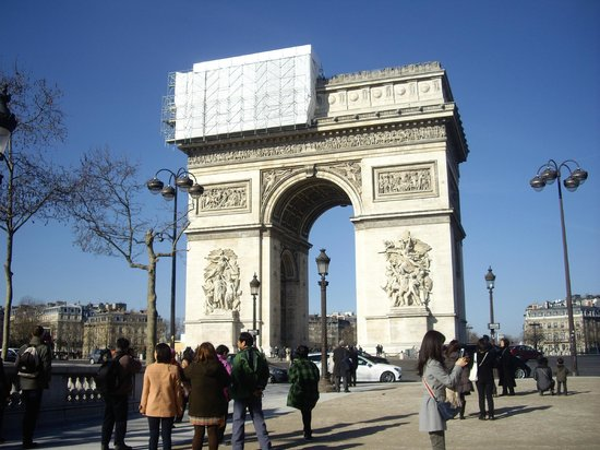 Hôtel Garden Elysée : Arco de Triunfo