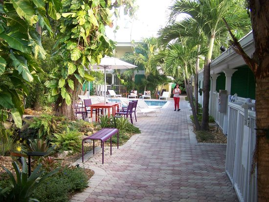 Almond Tree Inn : View entering hotel grounds