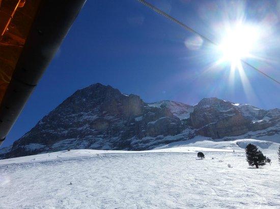 Sunstar Alpine Hotel Grindelwald : Von überall tolle Aussicht