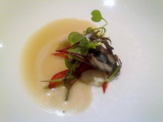Restaurante Eirado Da Lena: Escabeche de lamprea