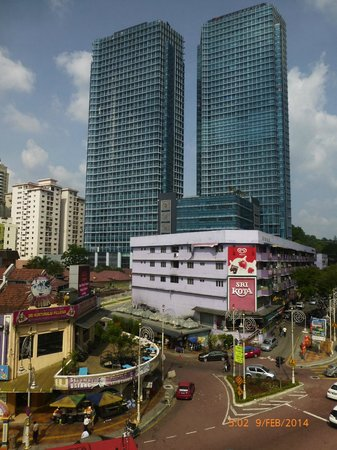 Lotus Hotel KL Sentral: View from window