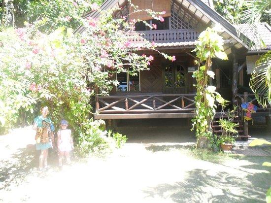 Sabai Corner Bungalows: The house