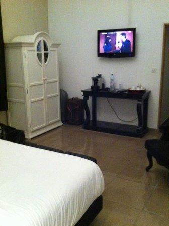 Au Vin Chambré : autre vue de la chambre