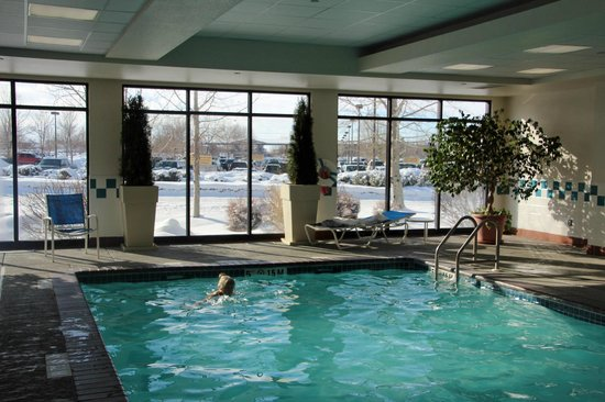 Holiday Inn Express Hotel & Suites Bozeman West: warm and transparent water
