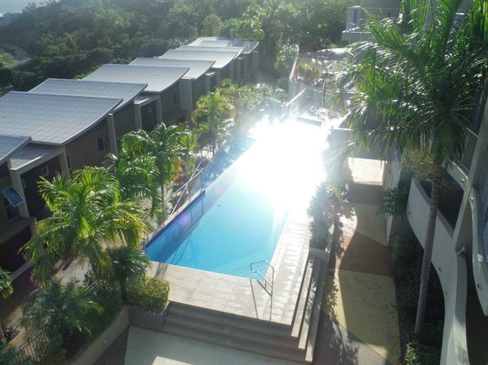 Azure Sea Whitsunday: View of pool area from balcony