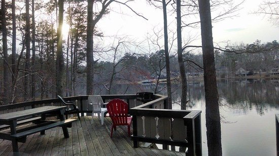 Pine Mountain Club Chalets: the view from the deck