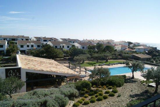 Hotel Sol Ixent: Restaurante y piscina