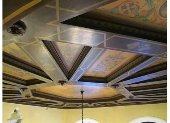 Hotel Mayflower : ceiling