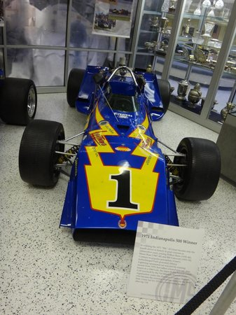 Indianapolis Motor Speedway Museum: 1971 Indianapolis 500 Winner