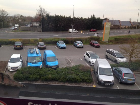 Premier Inn Christchurch West Hotel: View from my room
