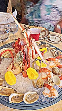 Zeffirino Ristorante: Seafood appitizer. Delish but $$$
