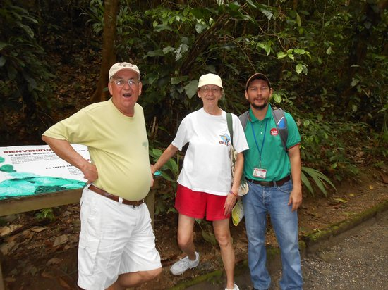 Go With Gus Tours: Isaiah with two of our group