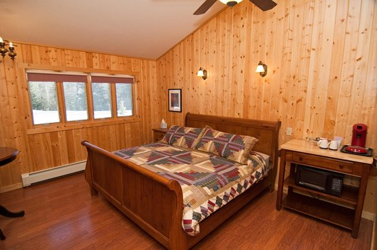 Cable Nature Lodge : Birkie guest room