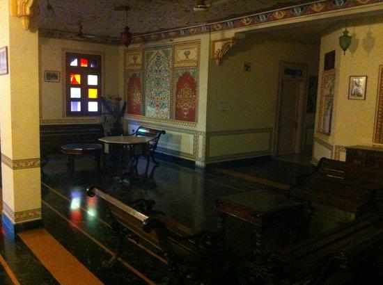 Sajjan Niwas : salottino secondo piano
