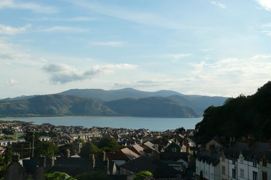 Evans Hotel: The coastline from the Great Orme