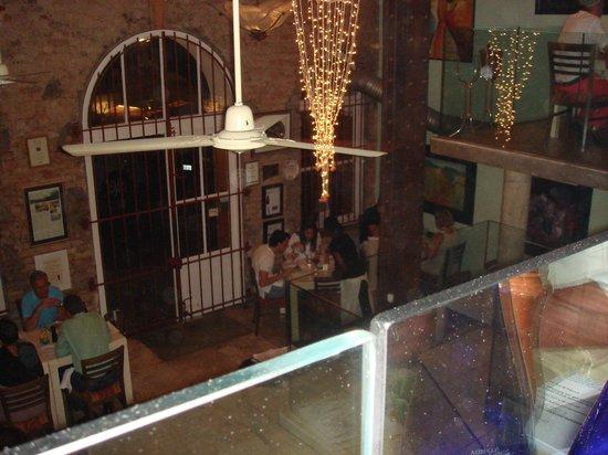 Savoy Cabbage : Blick von der 1. Etage in den unteren Teil