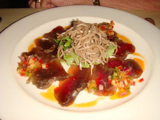 Savoy Cabbage : Vorspeise mit Kudu