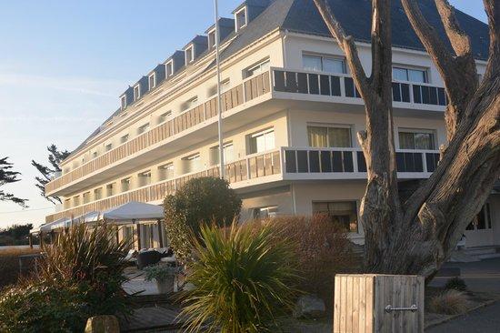 Castel Clara Thalasso & Spa : L'Hôtel: chambres donnant sur la mer