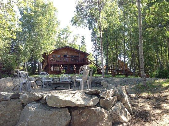 Alaska Serenity Lodge : Fire Pit