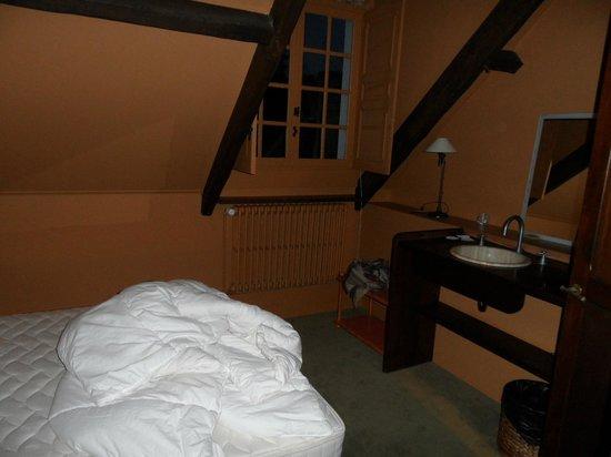 Le Manoir de la Grande Commune : Chambre