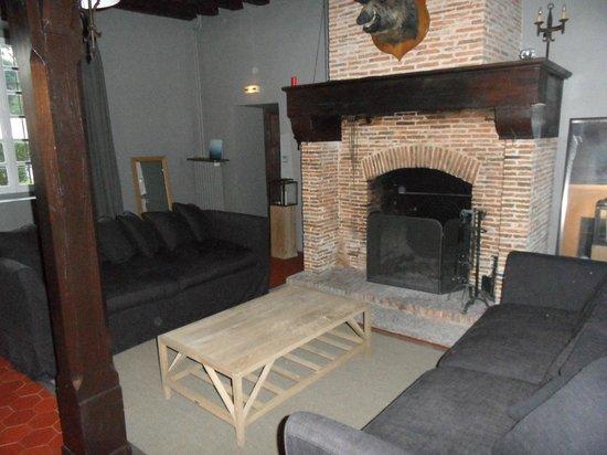 Manoir de La Grande Commune: Salon commun