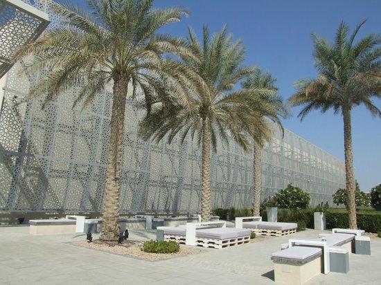 Manarat al Saadiyat: Budynek galerii