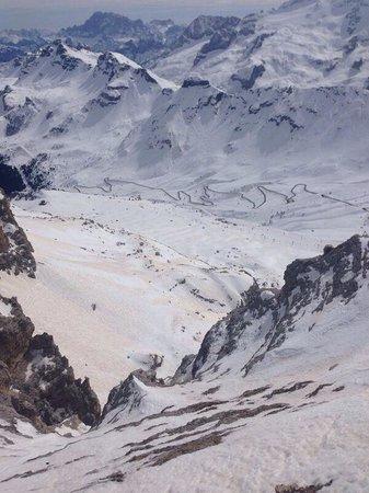 Dolomiti - Picture of La Terrazza delle Dolomiti, Canazei ...