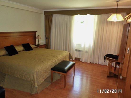 Hotel Villa Huinid Bustillo : HABITACION