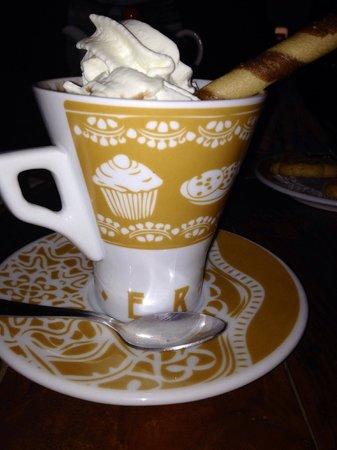 Casa Vetere: Cioccolata calda!!!