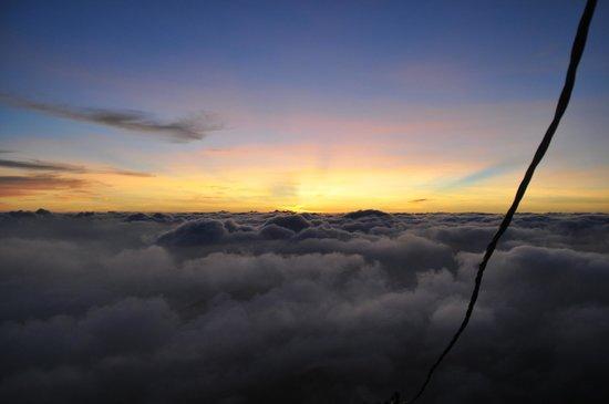 Nallathanniya, Sri Lanka: aspettando l'alba