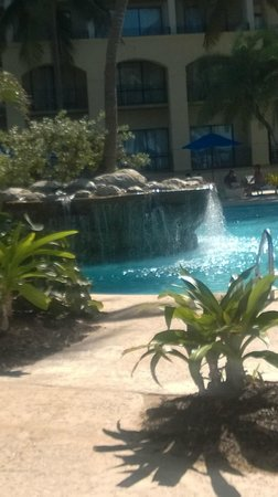 Margaritaville Vacation Club Wyndham Rio Mar: pool waterfall, adult pool