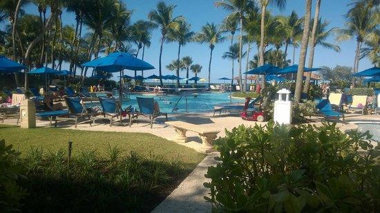 Margaritaville Vacation Club Wyndham Rio Mar: pool area