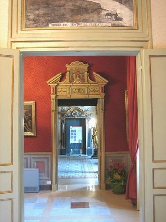 Museo Diocesano di Palermo (Le Stanze dei Vescovi) : Fuga di stanze del Palazzo Arcivescovile